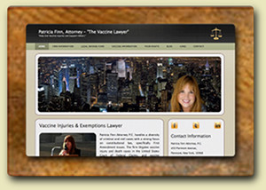 <div style='margin-top:-7px;'>Patricia Finn Law Firm Website</div>